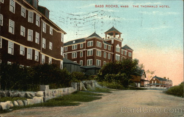 The Thorwald Hotel Bass Rocks Massachusetts