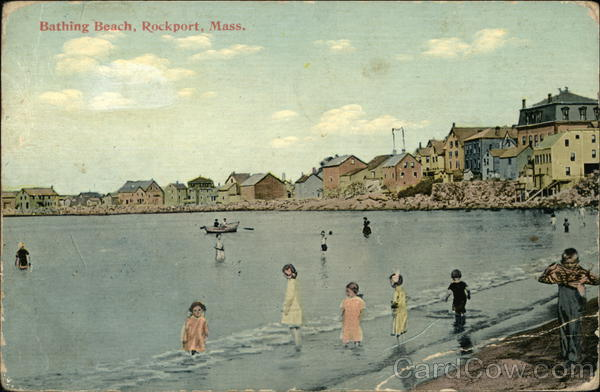 Bathing Beach Rockport Massachusetts