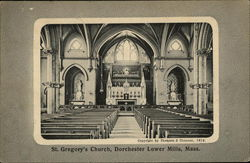 Interior of St Gregory's Church