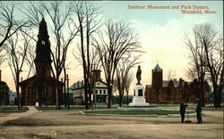 Soldiers' Monument and Park Square
