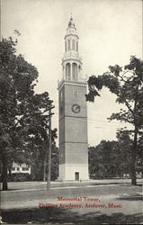 Memorial Tower at Phillips Academy