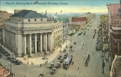 Main St. Showing Bank of Montreal