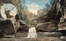 Rotunda and Bridal Veil Falls, Deer Park Glen