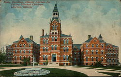 Main Building, Illinois Asylum for Feeble Minded Children