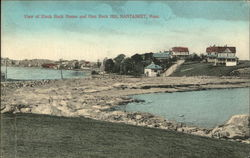 View of Black Rock House and Gun Rock Hill, Nantasket