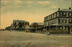 Salisbury Beach Before the Fire, 1908