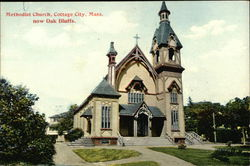 Methodist Church, Cottage City, Mass. now Oak Bluffs