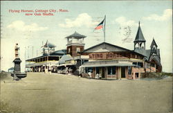Flying Horses, Cottage City, Mass. now Oak Bluffs