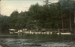 Boat Landing at Mayflower Grove