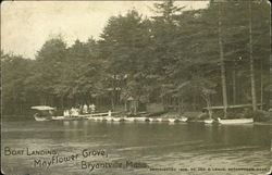 Boat Landing, Mayflower Grove