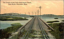 The Trestle across Little Good Harbor Beach