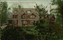 Residence of PJ Dutcher Postcard