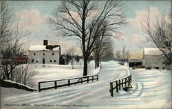 "Poet Whitier's Birthplace, ""Snowbound"""