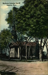 Mayflower Unitarian Church Postcard