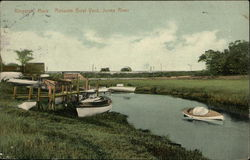 Ransom Boat Yard, Jones River