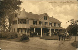 Horses and Buggies at the Lancaster Inn