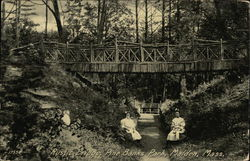 Rustic Bridge, Pine Banks Park