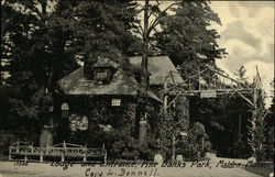 Lodge and Entrance Hall, Pine Banks Park