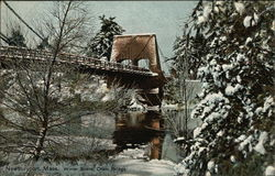 Winter Scene at Chain Bridge