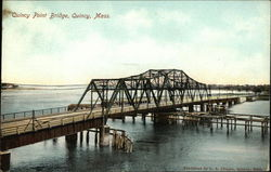 Water View of Quincy Point Bridge