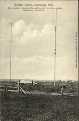 Wireless Station Postcard
