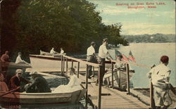 Boating on Glen Echo Lake