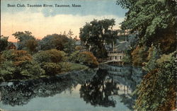 Boat Club on the Taunton River