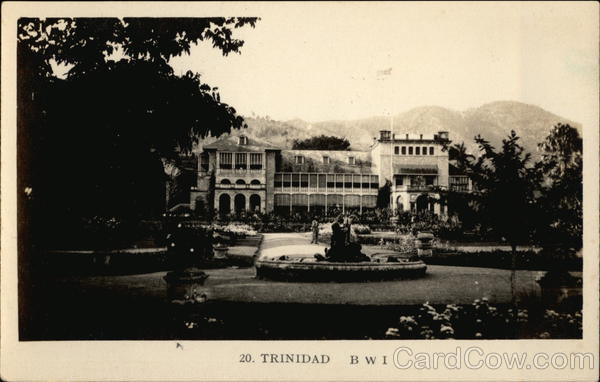 President's House and Botanic Gardens Port-of-Spain Trinidad