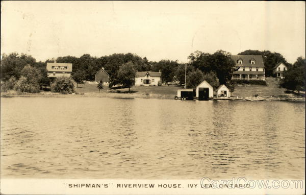 Shipman's Riverview House, Ivy Lea Canada Ontario