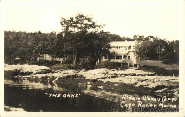 The Oaks - Hiram Blake's Camps, Cape Rosier Brooksville Maine