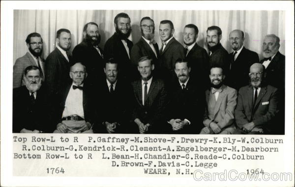 Portrait of Several Men Weare New Hampshire