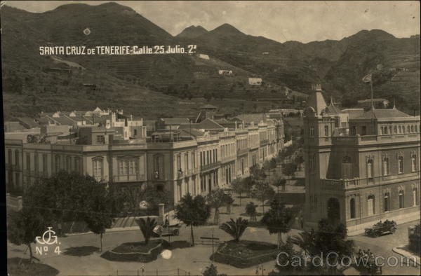 Calle 25 Julio Santa Cruz de Tenerife Canary Islands (Spain)