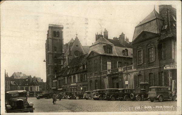 Place Bossuet Dijon France