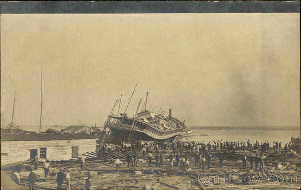 Hurricane/Tidal Wave October 1906 Mobile Alabama
