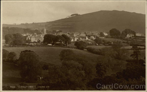 View of Town Chagford England