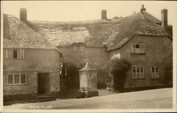 Local Pub with Thatched Roof England