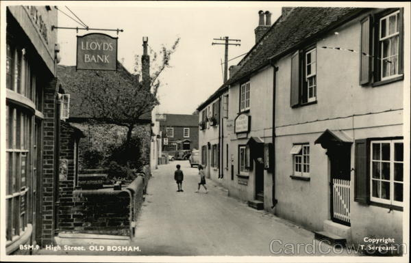 high Street, Old Bosham England Sussex