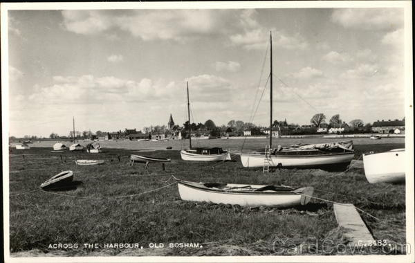 Across The Harbour, Old Bosham England Sussex