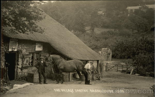 The Village Smithy Branscombe England