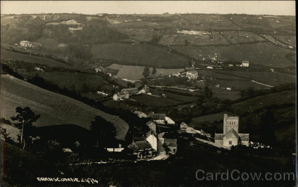Panoramic View of Branscombe West Dover England
