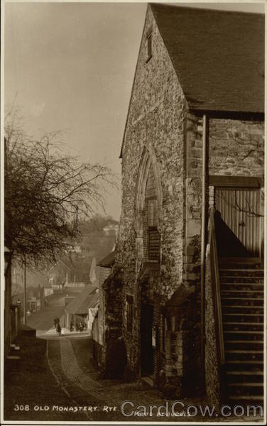 Old Monastery Rye England Sussex