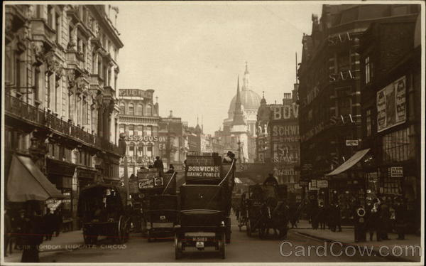 Ludgate Circus London England
