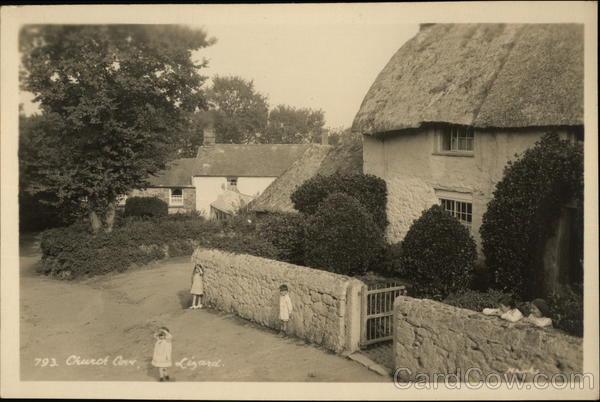 Church Cove, The Lizard Cornwall England