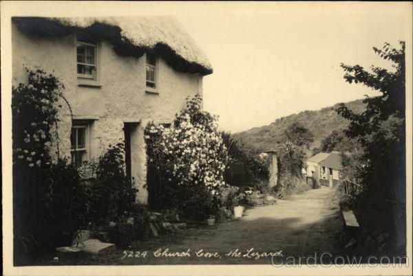 The Lizard, Church Cove Cornwall England
