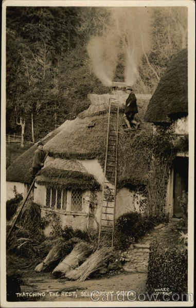 Thatching The Rest Selworthy Green England