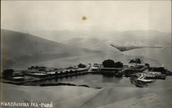 Panoramic View of the Huacachina Oasis