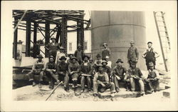 Group of Men Working in Construction in America