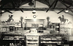 Interior of a Western Store with Jewelery, Coins, and Fabric
