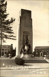 91st Division Monument, Fort Lewis