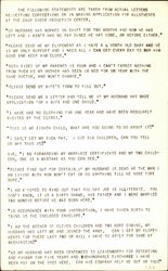 Quotes of Requests for Corrections in Allotments at the Camp Dodge Deduction Center Postcard